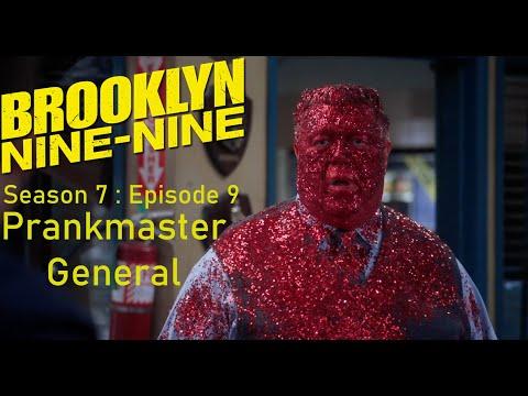 "Brooklyn Nine-Nine Season 7 : Episode 9 : ""Jake The Prankmaster General"""