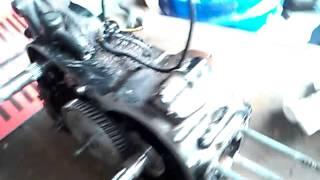 8. Suzuki jr50 clutch flywheel removal part 7