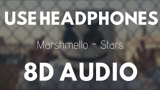 Marshmello - Stars (8D AUDIO) | 8D UNITY