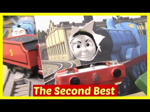 Thomas and Friends Accidents Will Happen   Kids Toy Trains   Thomas tank engine James Second Best