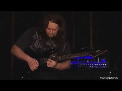 "Tantal - Guitar solos from ""Expectancy"" album / ESP Guitars promo video"