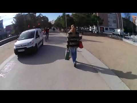 A  San Martín de la Vega (continuo; tiempo real; sin pisar carreteras)