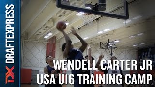 Wendell Carter Jr 2015 USA U16 Training Camp Footage