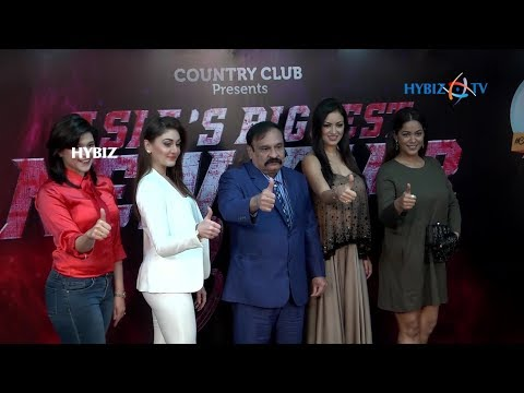 , Asias Biggest New Year Bash 2018 Country Club