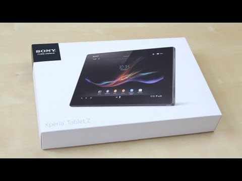 Unboxing: Sony Xperia Tablet Z (Deutsch) | SwagTab