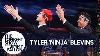 "Video Tyler ""Ninja"" Blevins Teaches Jimmy the Pon Pon Dance MP3, 3GP, MP4, WEBM, AVI, FLV Januari 2019"