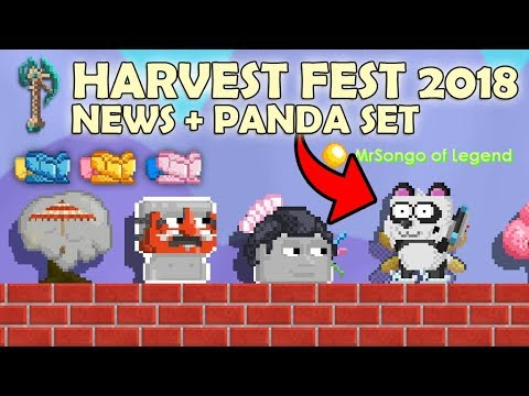 HARVEST FEST 2018 | 2000 CHAND SEED + NEW ITEMS + PANDA SET!! OMG!! (видео)