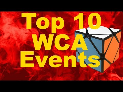 My Top 10 Favorite WCA Events [Updated]