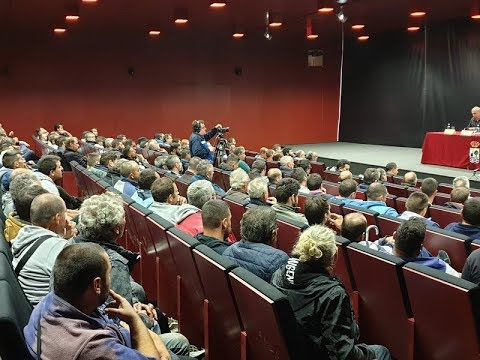 Encuentro Delegación Territorial de Pesca, Extractores del Pulpo Provincia de Huelva