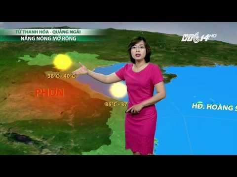 (VTC14)_Thời tiết 6h ngày 10.04.2017