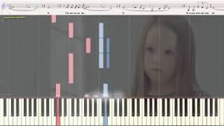 Дождь - Батырхан Шукенов (Ноты и Видеоурок для фортепиано) (piano cover)