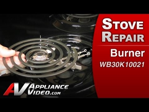 Burner – Stove / Oven or Range Repair (GE # WB30K10021 Replacement Part)