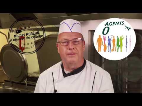 Agents 008 : Michel, cuisinier de collège