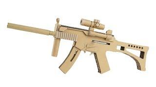 Video How To Make Cardboard Gun | Amazing MP5 That Shoots MP3, 3GP, MP4, WEBM, AVI, FLV Desember 2018