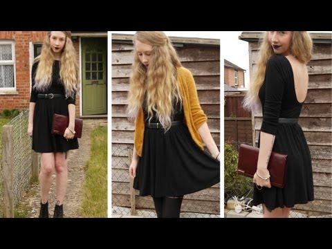 Day To Night • Basic Black Dress