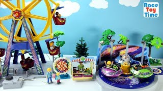 Hi kids, RaceToyTime here! Today, we are going to show, build and play with this Playmobil Summer Fun Spinning Ride Playset. We also included the Playmobil Ferris Wheel Playset and peppa pig in this video. I hope you guys enjoy this video. Please be sure to subscribe to our channel, RaceToyTime! If you haven't already, and like and share our videos. We have a lot of videos on our channel. Watch them all! We'll make more! Comment below if you like and as always, thanks for watching!Subscribe to racetoytime here - https://www.youtube.com/channel/UCVTQrl1dtafYX08IBb7EhrwWatch our other videos:  Learn Animal Toys Names │ Zoo Animals Elephant Lion Tiger Rhino for Kids - https://www.youtube.com/watch?v=KnsmONvQyeYLearning Sea Animals Toy Sharks Whales Dolphin - https://www.youtube.com/watch?v=9i88w4UqPnADinosaur Surprise Toys Game in the Claw Machine -  Learn Dinosaurs Names For Children - https://www.youtube.com/watch?v=H8AkVqFrxhoJurassic World Mini Dinosaurs Figures Blind Bag Exclusive Indominus Rex  - https://www.youtube.com/watch?v=_bgyS74lUR8Playmobil City Zoo Toy Wild Animals Building Set Build Review - https://www.youtube.com/watch?v=g5dbYcmUHZ8Playmobil City Life Large Zoo Toy Wild Animals Building Set Build Review - https://www.youtube.com/watch?v=IZXfiFPyW8EDinosaurs 3D Puzzles Animals Eggs Surprise Toys - Spinosaurus Ankylosaurus Pteranodon - https://www.youtube.com/watch?v=VJuukvLmpSgDinosaur Transforming Eggs Toys - Tyrannosaurus Rex Pterodactyl Velociraptor Triceratops - https://youtu.be/HT_CFeMP9GkToy Wild Animals 3D Puzzles Collection - Lion Panda Elephant Zebra Tortoise │ Animals for children - https://youtu.be/yabb98z1WC8Playmobil Toy Wild Zoo Animals Collection For Kids - Tiger Panda Koala Gorilla - https://youtu.be/L06I3WiWjNsPLAYMOBIL Country Farm Animals Pen and Hen House Building Set Build Review  - https://www.youtube.com/watch?v=dGplrNa-NZkPLAYMOBIL Toy Wild Zoo Animals Collection For Kids - Tiger Panda Koala Gorilla - https://youtu.be/L06I3WiWjN