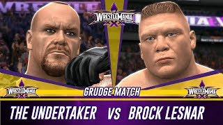 Nonton Wwe 2k14 Wrestlemania 30 The Undertaker Vs Brock Lesnar  Simulation  Film Subtitle Indonesia Streaming Movie Download