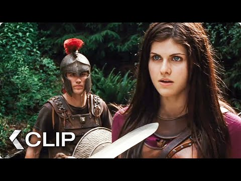 The Water Will Give You Power Movie Clip - Percy Jackson & The Olympians (2010)