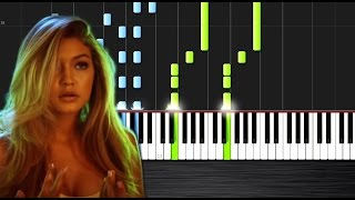 Calvin Harris & Disciples - How Deep Is Your Love - Piano Cover/Tutorial  Ноты и М�Д� (MIDI) можем в