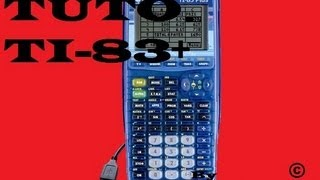 ♠ Tuto: mettre du cours sur TI-83 Plus, TI-84 depuis l'ordinateur ♠