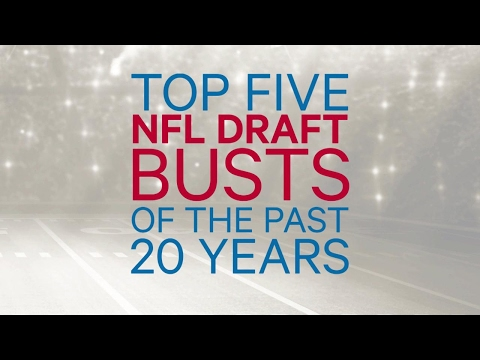 Top Five NFL Draft Busts