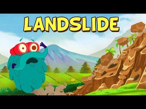 LANDSLIDE - The Dr. Binocs Show | Best Learning Videos For Kids | Peekaboo Kidz
