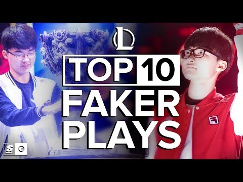 10 лучших моментов LoL от Faker