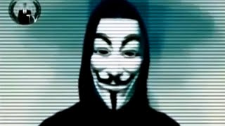 Anonymous release video calling for the UK masses to rise up against the elite. And warn us that the