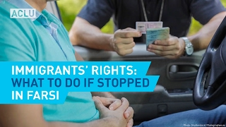 For more information, go here: https://www.aclu.org/feature/know-your-rights-immigration No matter your immigration status, you have rights when you interact...