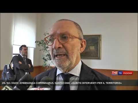 26/02/2020 | EMERGENZA CORONAVIRUS, SANTOCONO: «SUBITO INTERVENTI PER IL TERRITORIO»