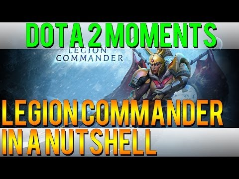 Dota 2: Lý do valve cần neft Legion Commander
