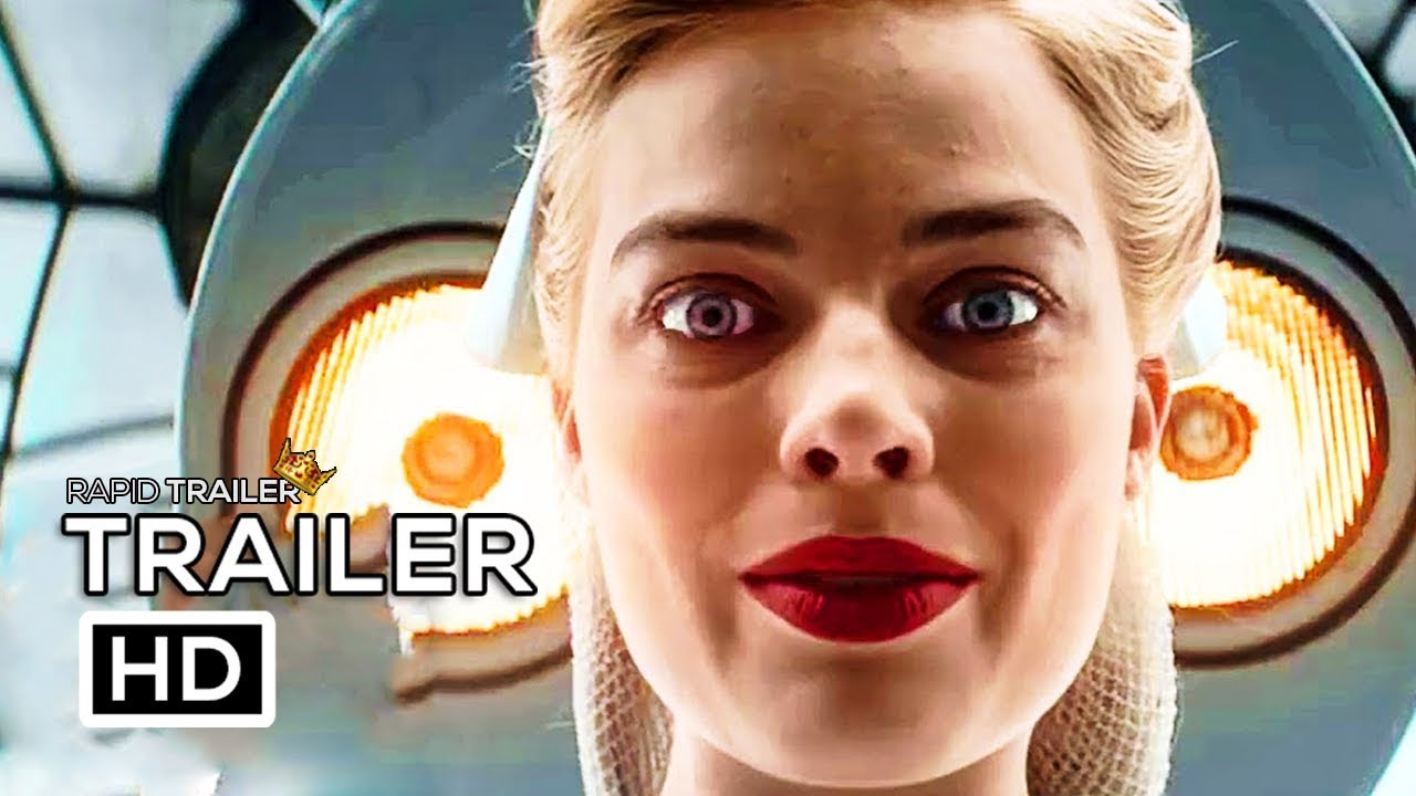 Three can keep a secret…if two are dead in 'Terminal' starring Margot Robbie, Simon Pegg & Mike Myers