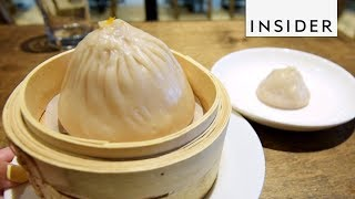 Check out the Emperor Soup Dumpling made at Little Alley, NYC. This giant dumpling is five times bigger than the regular soup dumpling. The INSIDER team ...