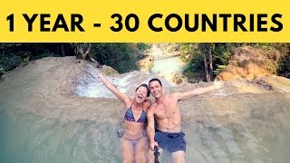 1 Year of Travel Vlogging | 30 COUNTRIES full download video download mp3 download music download