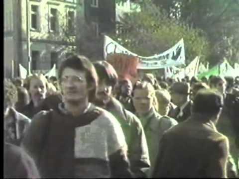 Bonn 1982: Bonn - Friedensdemo 10-10-1982