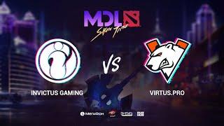 IG vs Virtus.рro, MDL Macau 2019, bo1, [Jam & Santa]