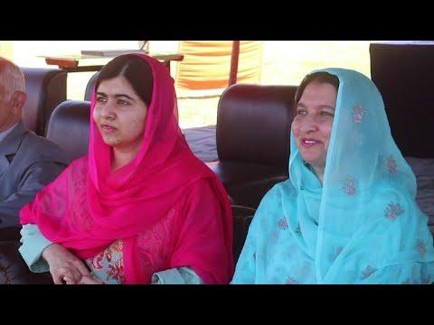Friedensnobelpreisträgerin Malala Yousafzai wieder in ...