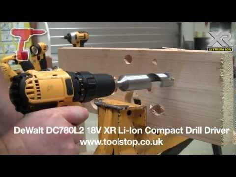 Način uporabe akumulatorskega vrtalnika DEWALT DCD780C2