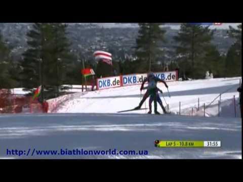 Биатлон. Кубок Мира 2010/2011. 9 этап. Масс старт (женщины) (видео)