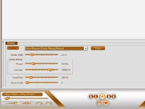 """How To Make An Instrumental Using """"AV Music Morpher""""."""