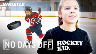 10-Year-Old AMAZING Female Hockey Superstar! by Whistle Sports