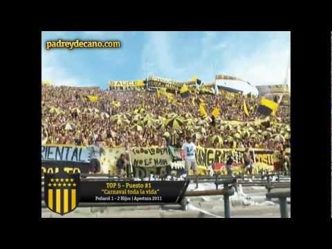 TOP 5 Alientos de la Hinchada de Peñarol [2011/12] - Barra Amsterdam - Peñarol