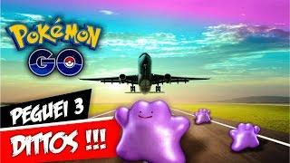 Capturei +3 Dittos no Aeroporto de Belém Pokémon GO - Chegamos ao Amapá by Pokémon GO Gameplay