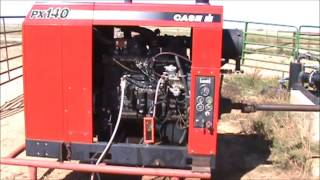 2. Case IH PX140 diesel power unit for sale | sold at auction October 31, 2012