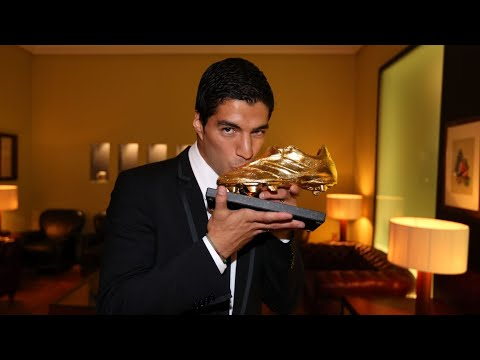 boot - Luis Suárez to recieve 2013-14 Golden Boot --- Barça 2.0 Subscribe to our official channel http://www.youtube.com/subscription_center?add_user=fcbarcelona Facebook: ...