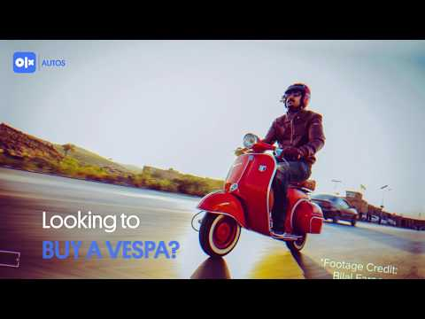 All Kinds of Vespas you can find on OLX