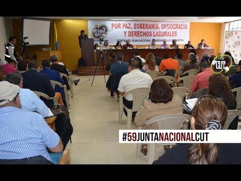 Video: Declaración LIX Junta Nacional de la CUT