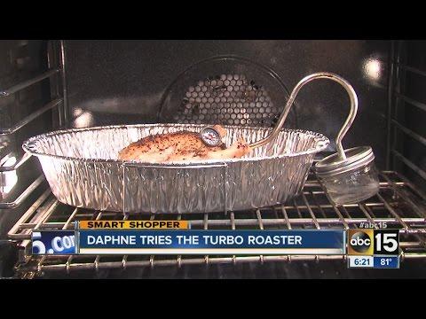 Smart Shopper Daphne Munro puts Turbo Roaster to the test