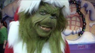 Interview: The Grinch at Universal Orlando Islands of Adventure for Grinchmas