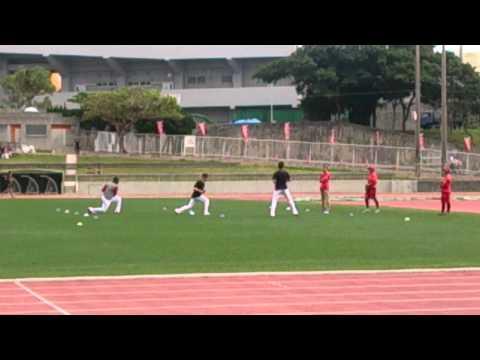 前田健太選手 トレーニング2
